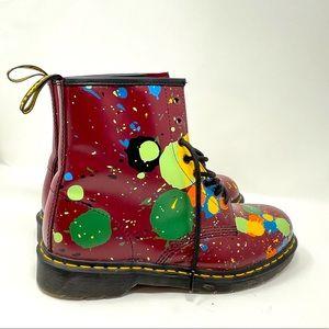 Dr. Martens Paint splash boots size 11